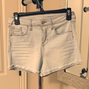 NOBO BRAND NEW W/ TAGS high rise light wash shorts